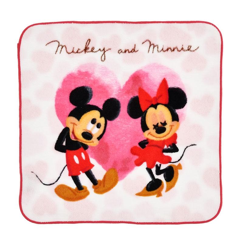ミッキー&ミニー ミニタオル Disney Valentine 2020