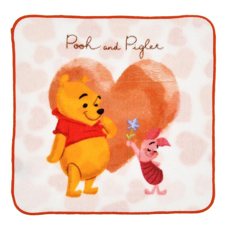 プーさん&ピグレット ミニタオル Disney Valentine 2020