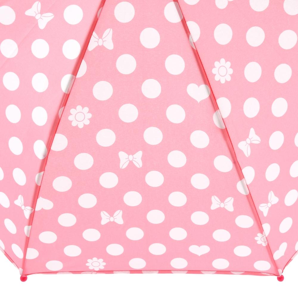 ミニー キッズ用傘 PINK Rain