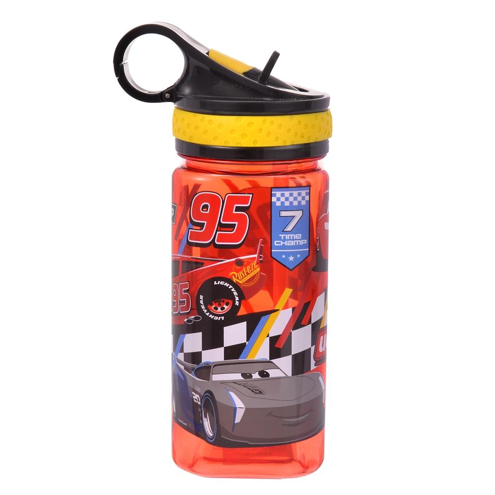 ライトニング・マックィーン、クルーズ・ラミレス、ジャクソン・ストーム 水筒・ウォーターボトル ライン スクエア