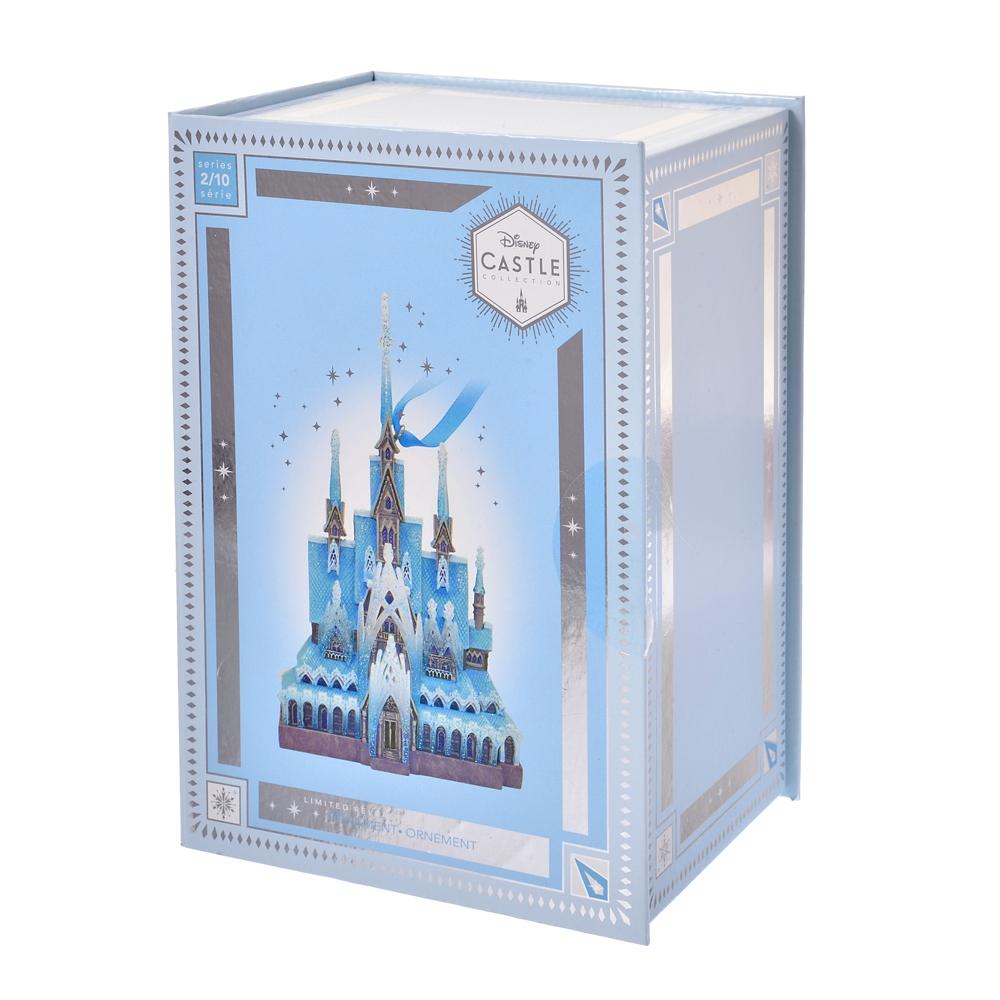 アナと雪の女王 オーナメント アレンデール城 Disney Castle Collection