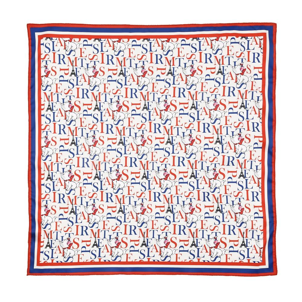 マリー おしゃれキャット スカーフ THE ARISTOCATS 50 YEARS