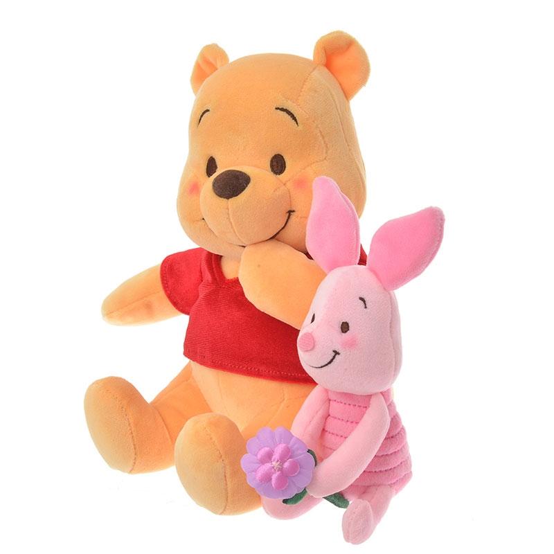 プーさん&ピグレット ぬいぐるみ Disney Valentine 2020