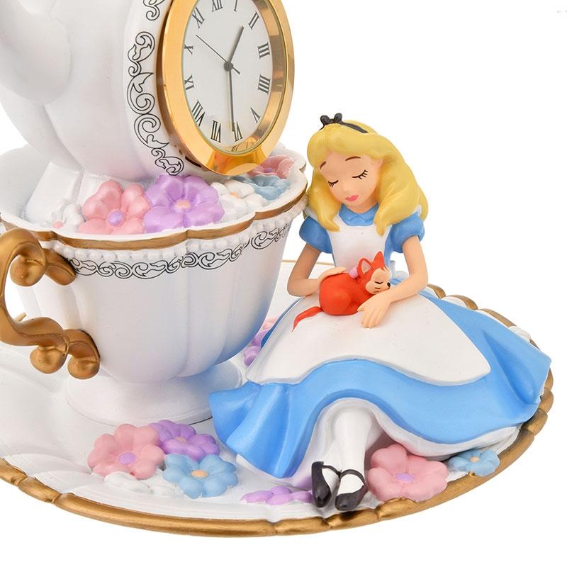 アリス、ダイナ、白うさぎ 時計 Sleep Day