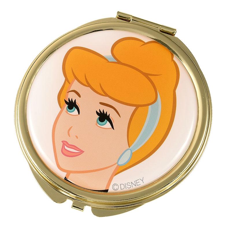 シンデレラ ハンドミラー・手鏡 巾着付き Cinderella 70th