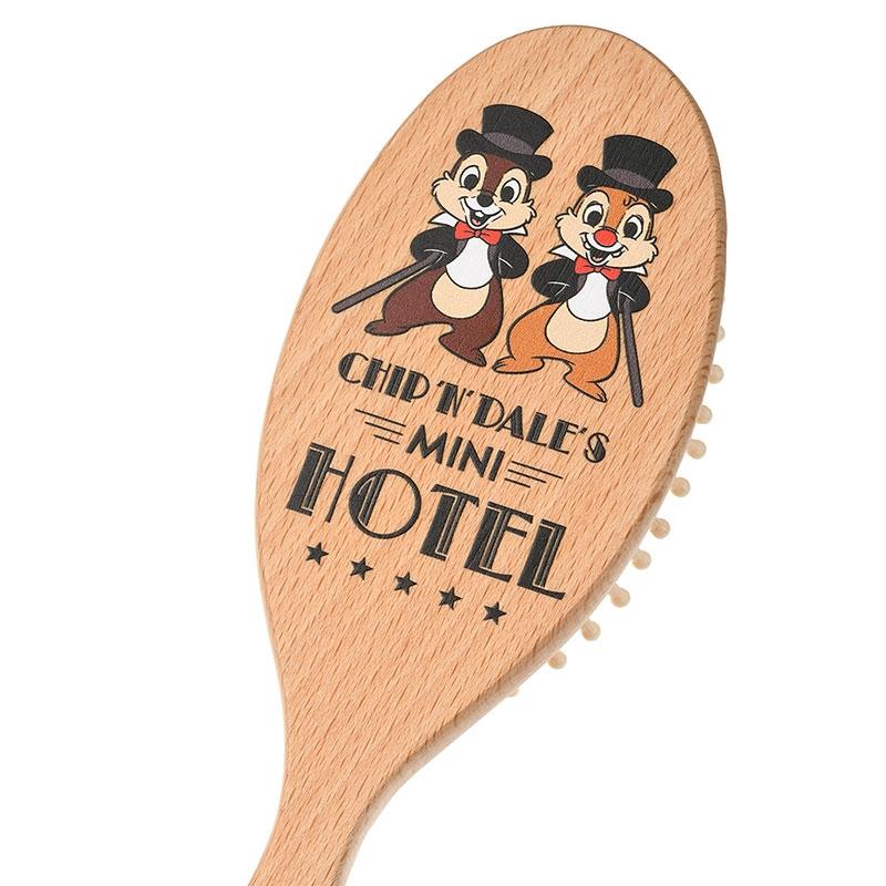 チップ&デール ヘアブラシ Chip&Dale Mini Hotel
