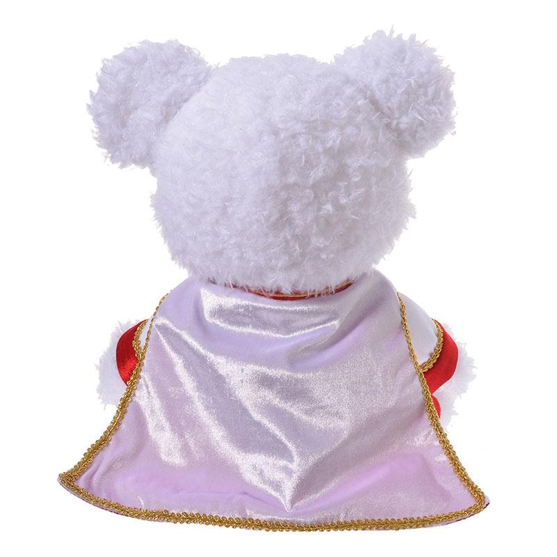 ユニベアシティ ぬいぐるみ専用コスチューム ジャケット 王子 ホワイト&レッド