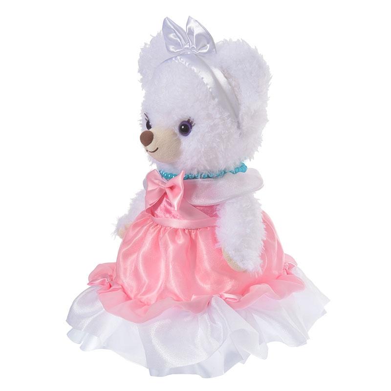 ユニベアシティ ぬいぐるみ専用コスチューム ドレス シンデレラ ピンク