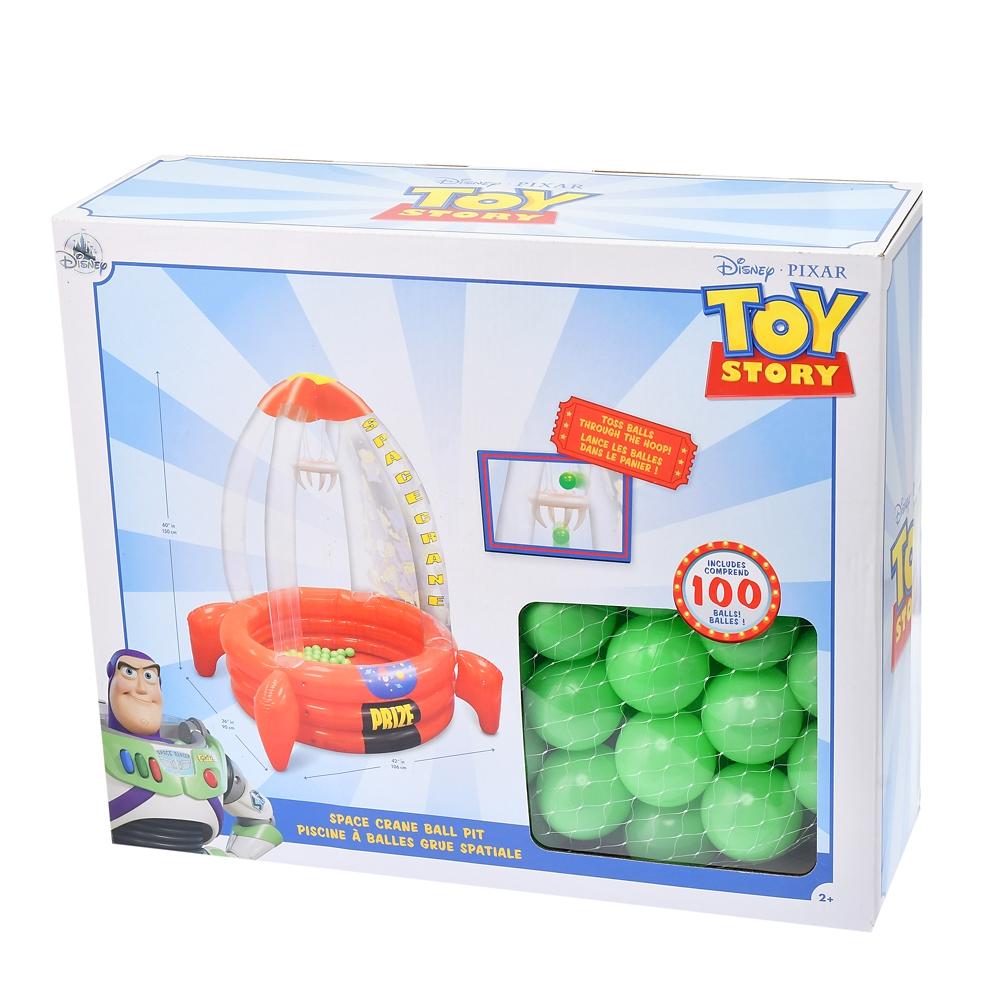 トイ・ストーリー おもちゃ ボールプール スペースクレーン