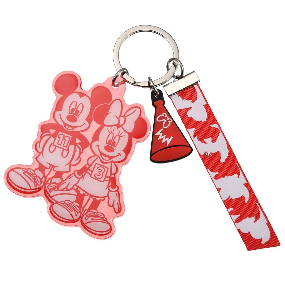 【アウトレット】ミッキー&ミニー キーホルダー・キーチェーン Mickeys Athlete Club
