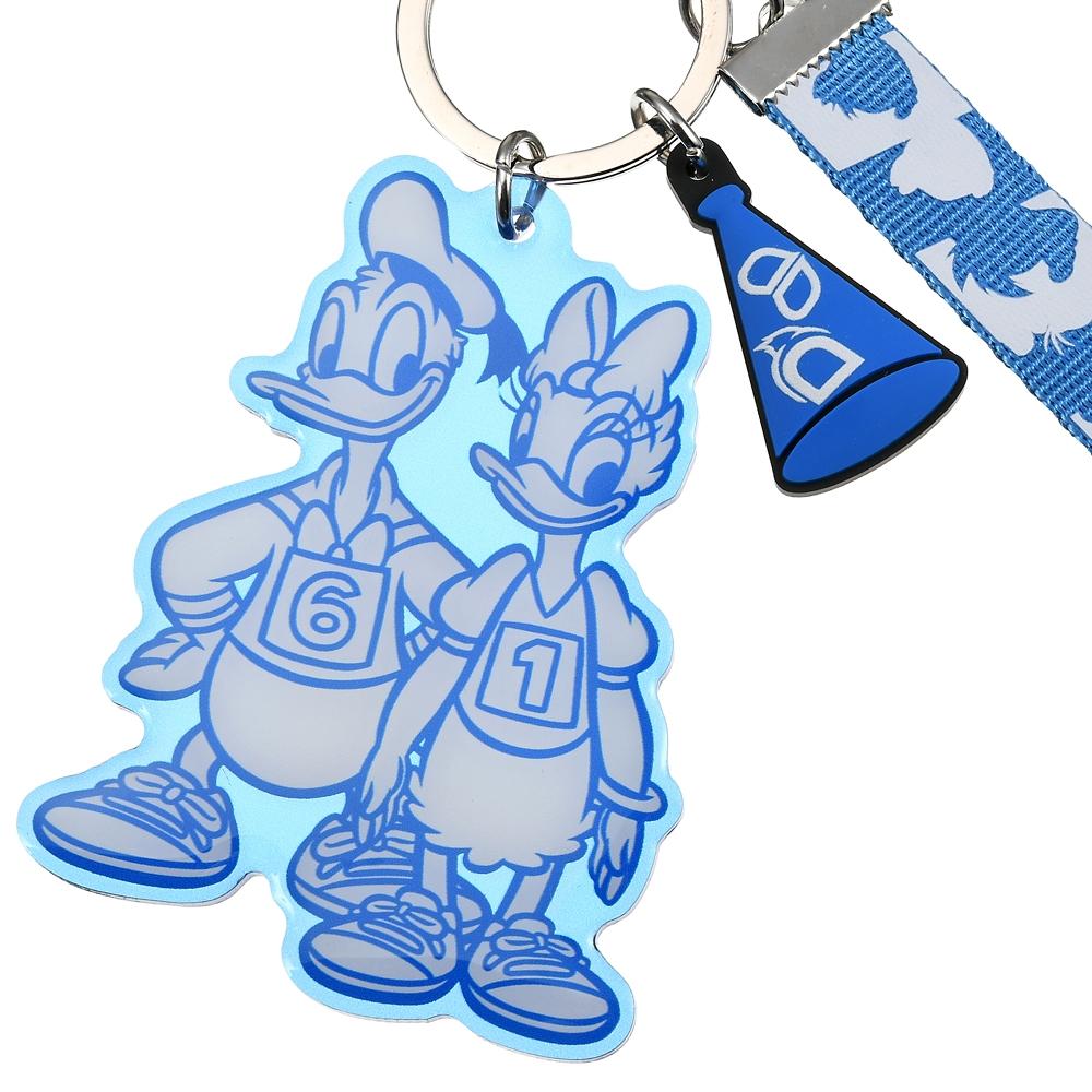 ドナルド&デイジー キーホルダー・キーチェーン Mickeys Athlete Club