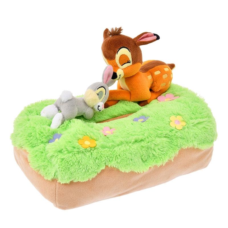 バンビ&とんすけ ティッシュボックスカバー Sleep Day