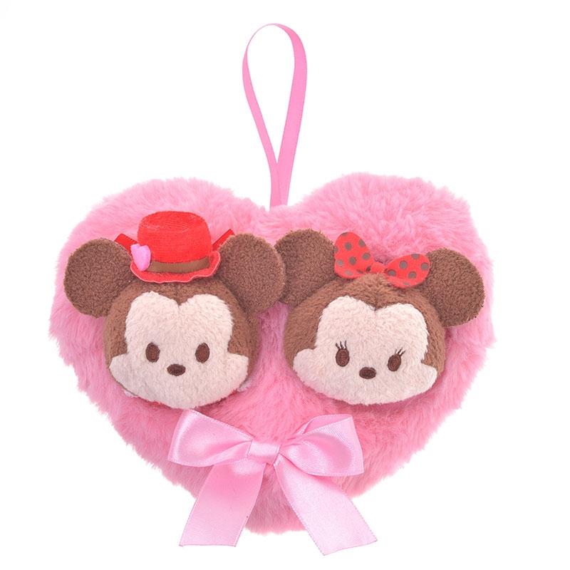 ツムツム ぬいぐるみ ミッキー&ミニー ミニ(S) バレンタイン TSUM TSUM