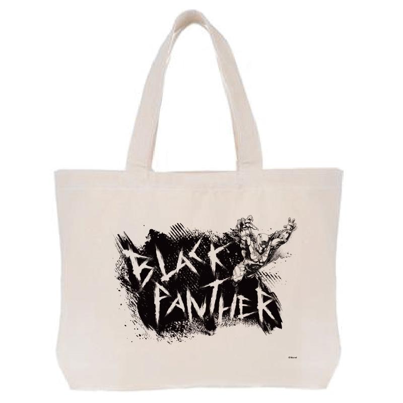 【D-Made】トートバッグ  MARVEL ブラックパンサー