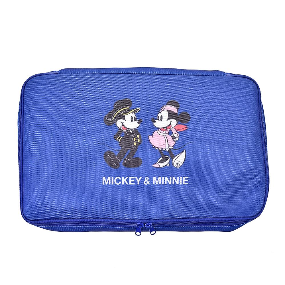 ミッキー&ミニー ポーチ(L) Travel with Mickey