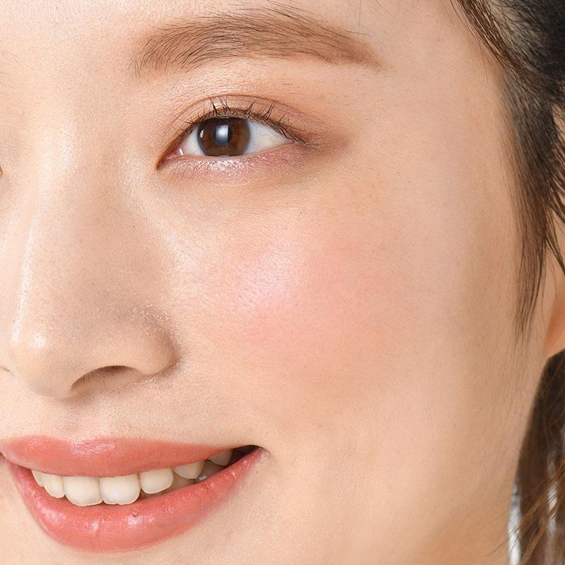【WHOMEE】ミッキー&ミニー ブレンドチークカラー popy red パレット