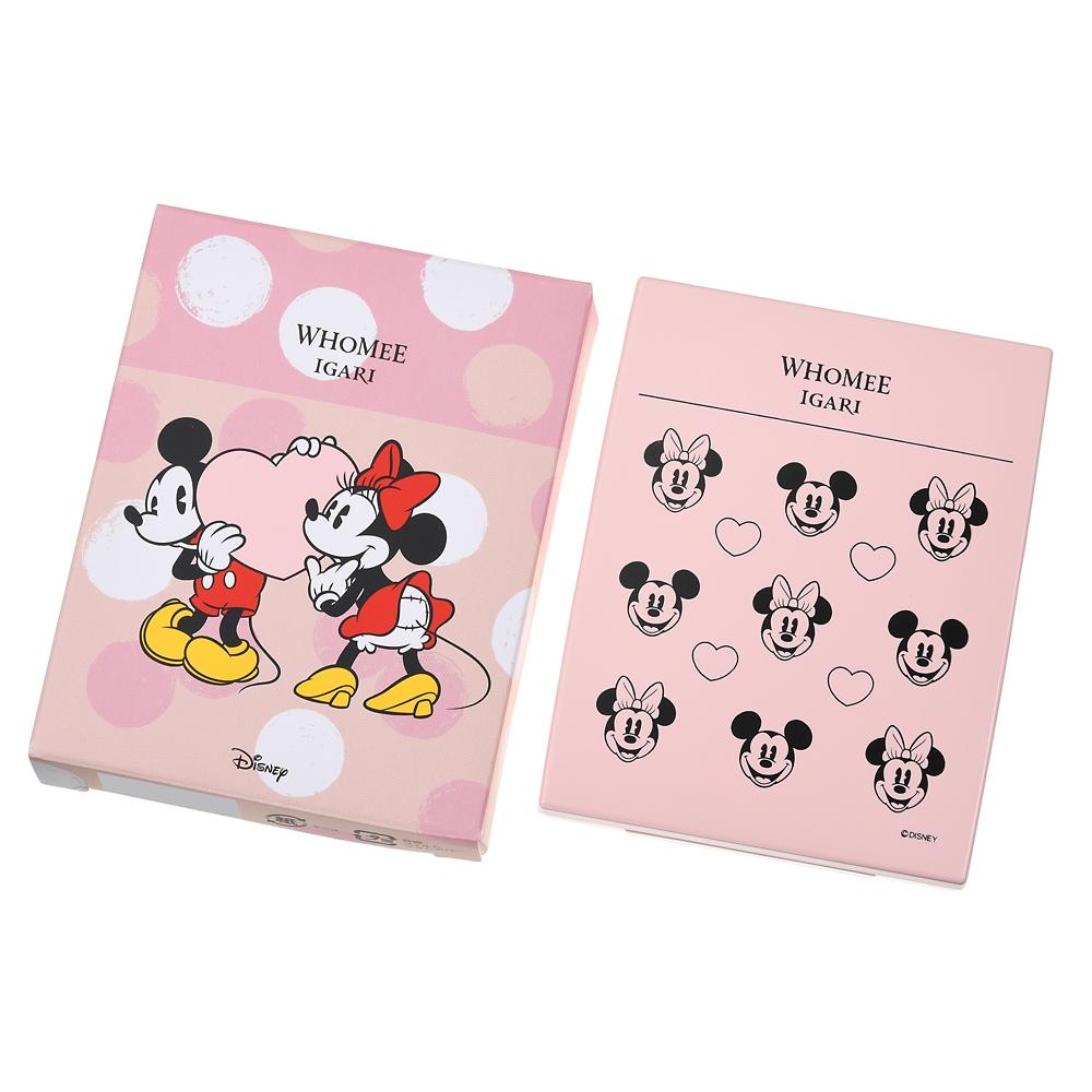 【WHOMEE】ミッキー&ミニー ブレンドチークカラー kissing パレット