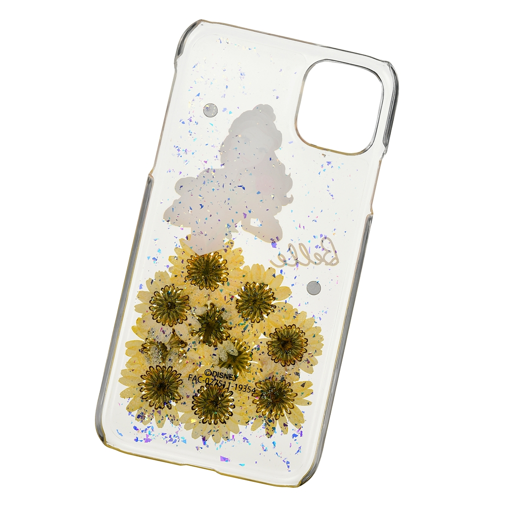 ベル iPhone 11用スマホケース・カバー フラワー&ストーン