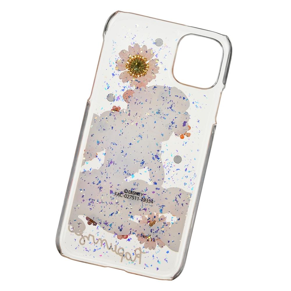 ラプンツェル iPhone 11用スマホケース・カバー フラワー&ストーン
