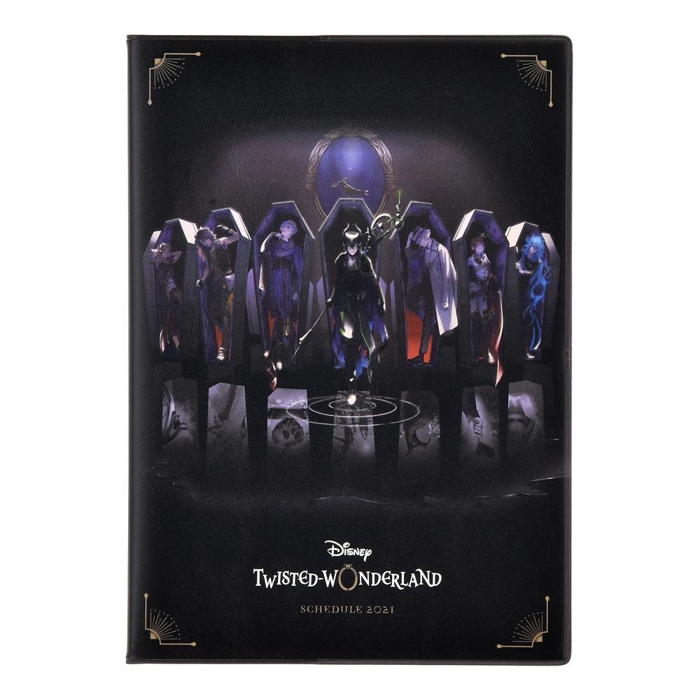『ディズニー ツイステッドワンダーランド』 手帳・スケジュール帳 2021 B6