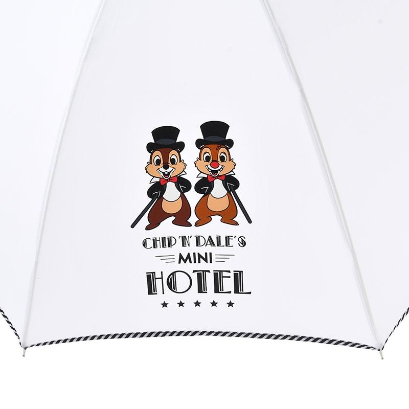 チップ&デール 傘 ジャンプ式 ミニホテル