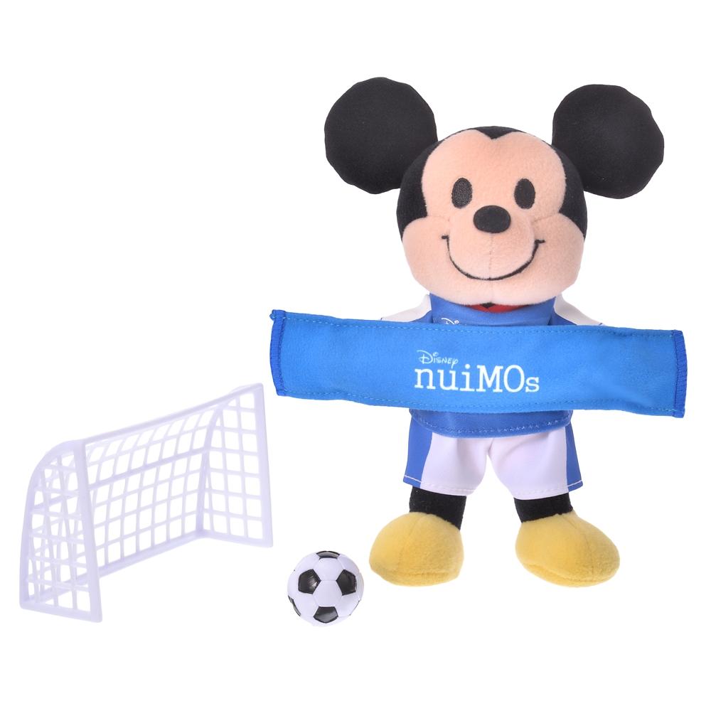 nuiMOs ぬいぐるみ専用アクセサリー スポーツセット サッカー