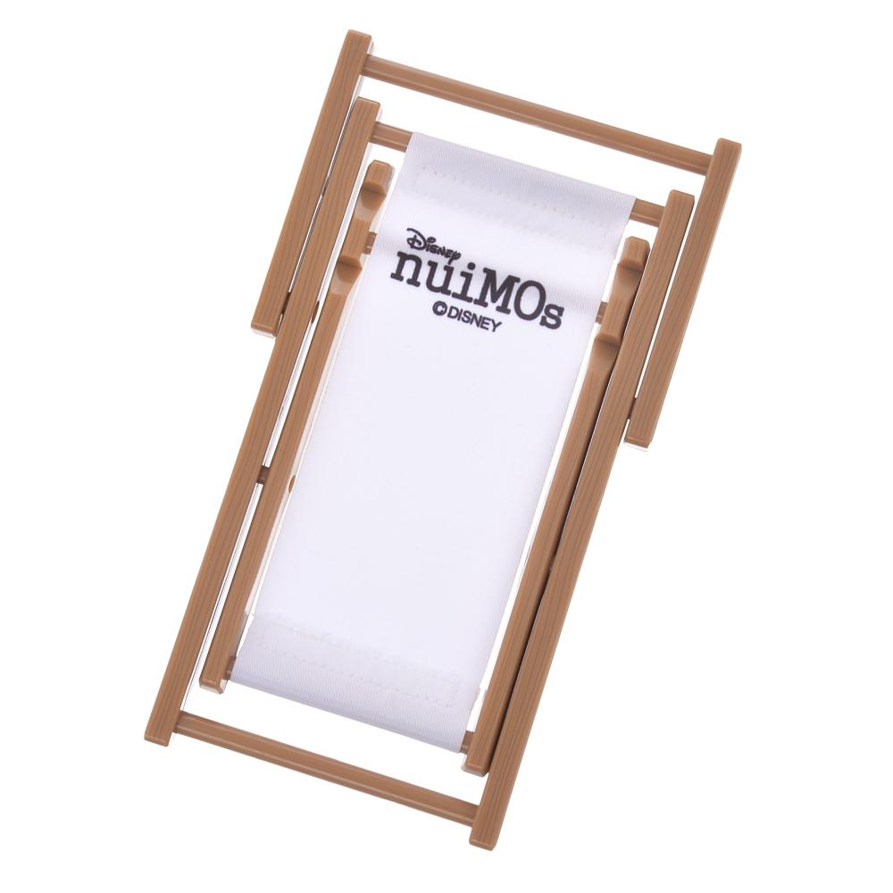 nuiMOs ぬいぐるみ専用チェア ホワイト ロゴ