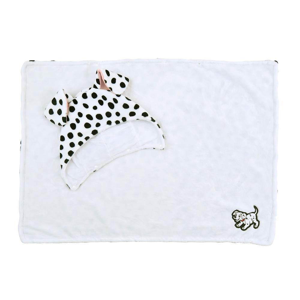 【送料無料】101匹わんちゃん ブランケット リバーシブル 101 Dalmatians