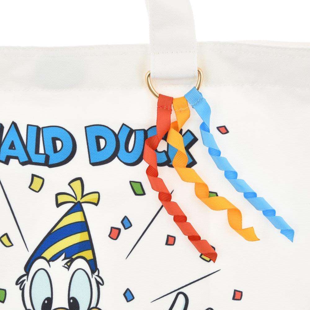 ドナルド、チップ&デール トートバッグ 2WAY Donald Duck Birthday 2020