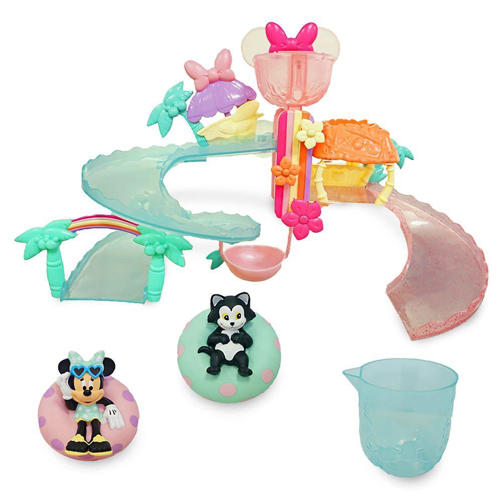 ミニー&フィガロ おもちゃ ウォーターパーク お風呂 プレイセット