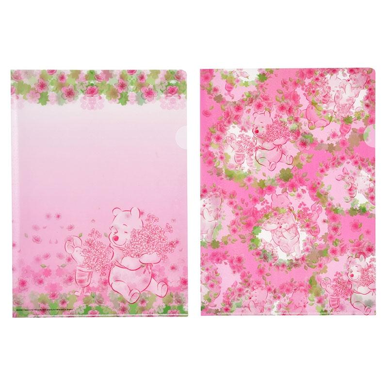プーさん&ピグレット クリアファイル ホログラム Sakura 2020
