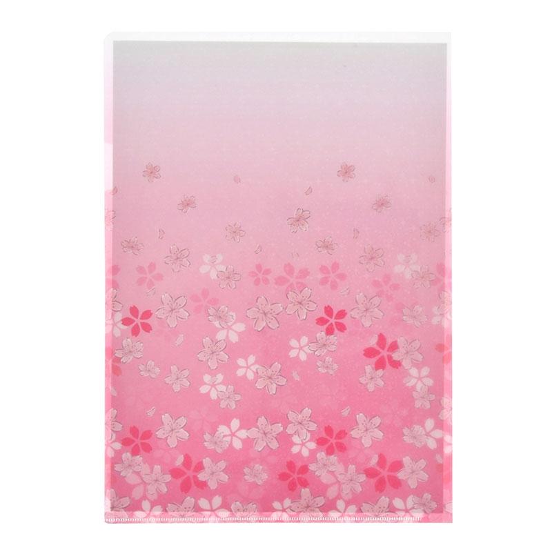 ミッキー&ミニー クリアファイル ホログラム Sakura 2020
