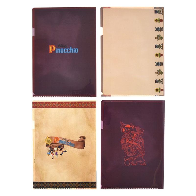 ピノキオ クリアファイル ホログラム アニバーサリー