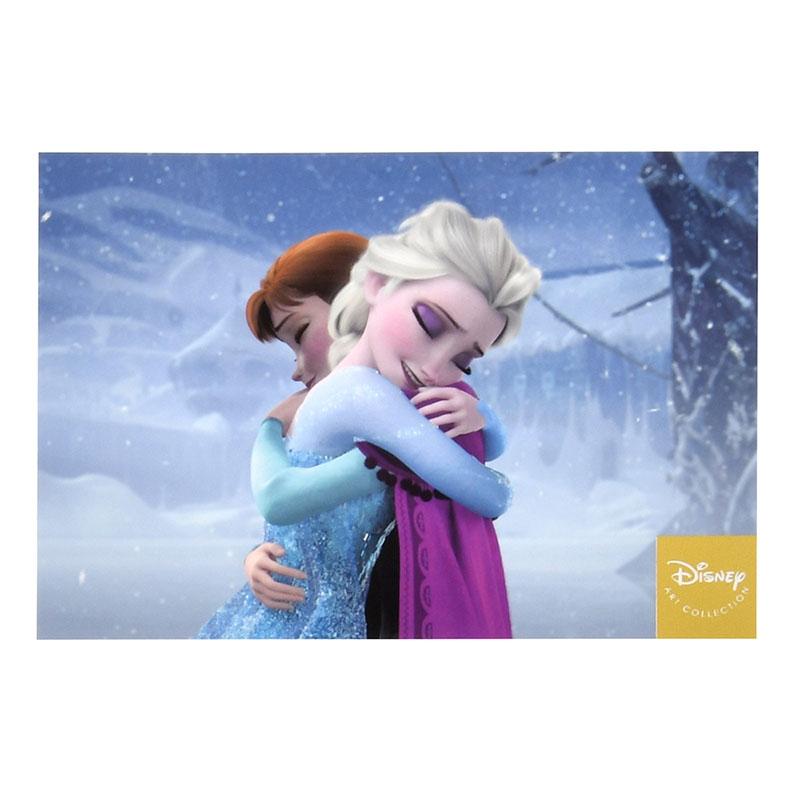 アナ、エルサ ポストカード アナと雪の女王 姉妹の絆
