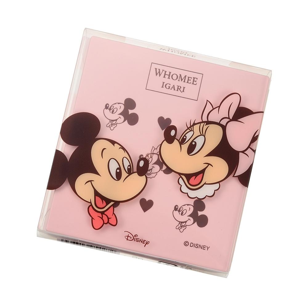 【WHOMEE】ミッキー&ミニー アイシャドウ タンジェリンオレンジ パレット Make Up