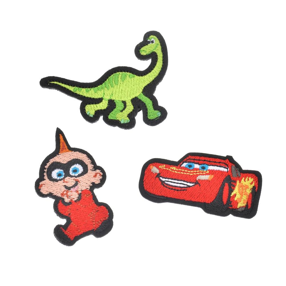 ピクサーキャラクター ピンバッジ 刺しゅう Pixar Better Together