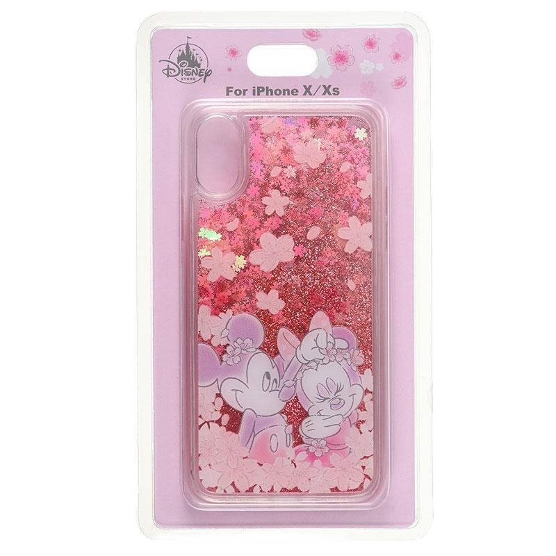 ミッキー&ミニー iPhone X/XS用スマホケース・カバー Sakura 2020