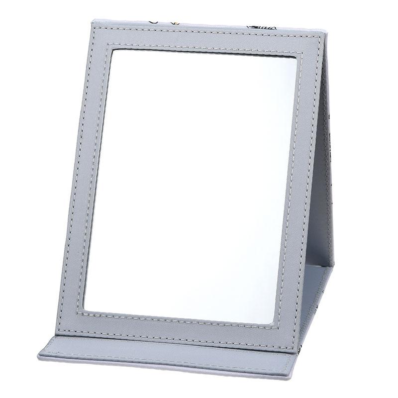 プー&フレンズ ミラー・鏡 折りたたみ式 ナチュラル