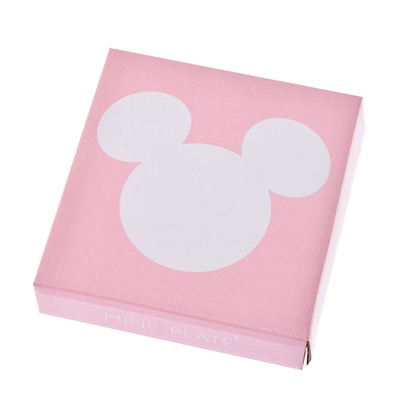 ミッキー プレート ミニ ピンク アイコン