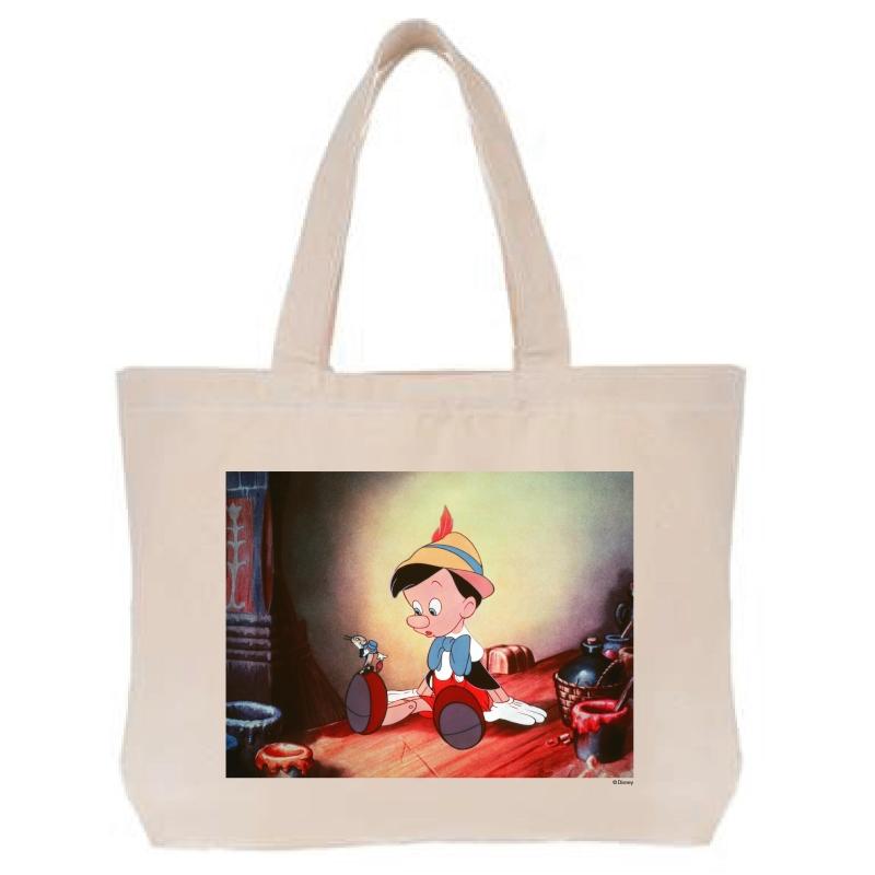 【D-Made】トートバッグ 映画『ピノキオ』