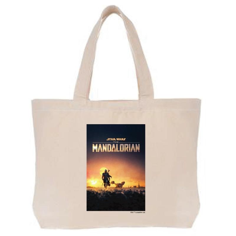 【D-Made】トートバッグ 『マンダロリアン』ポスター1