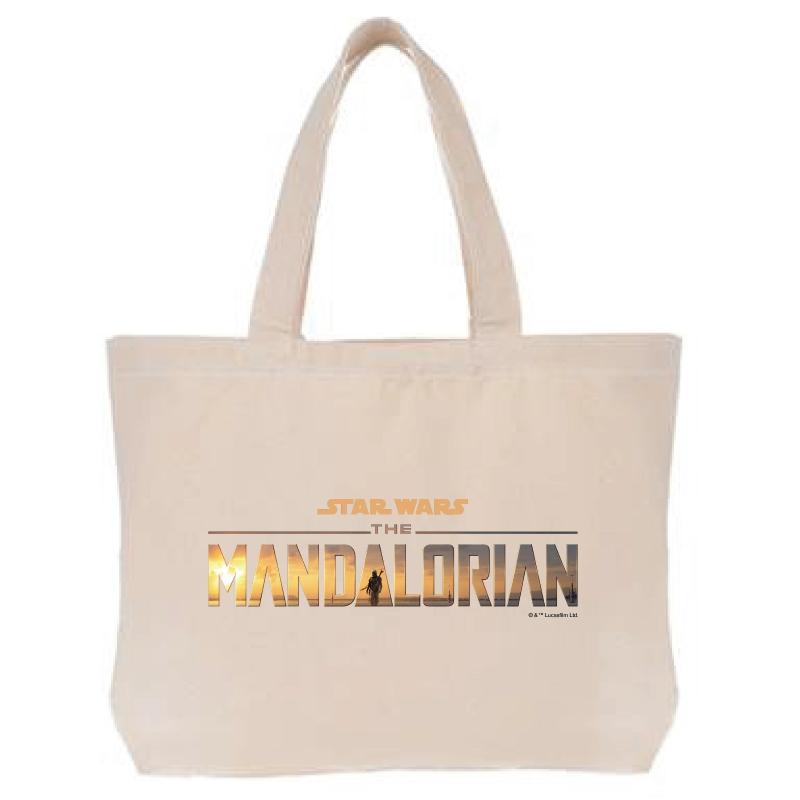 【D-Made】トートバッグ 『マンダロリアン』ロゴ