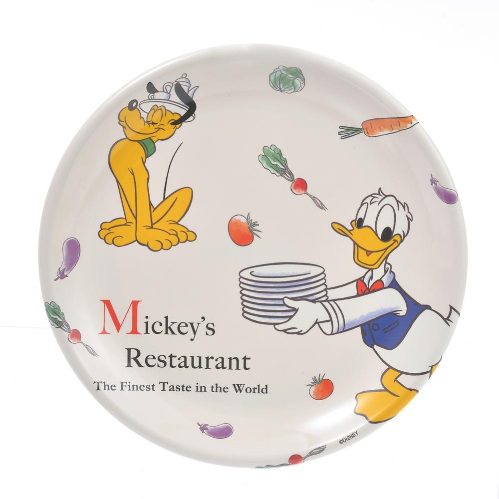 ミッキー&フレンズ プレート Retro Kitchen