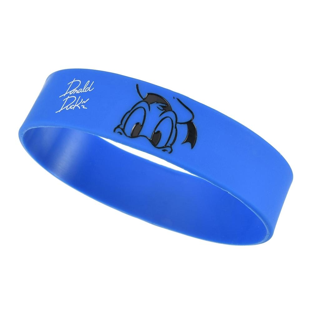 ドナルド リストバンド シリコン Colors ブルー
