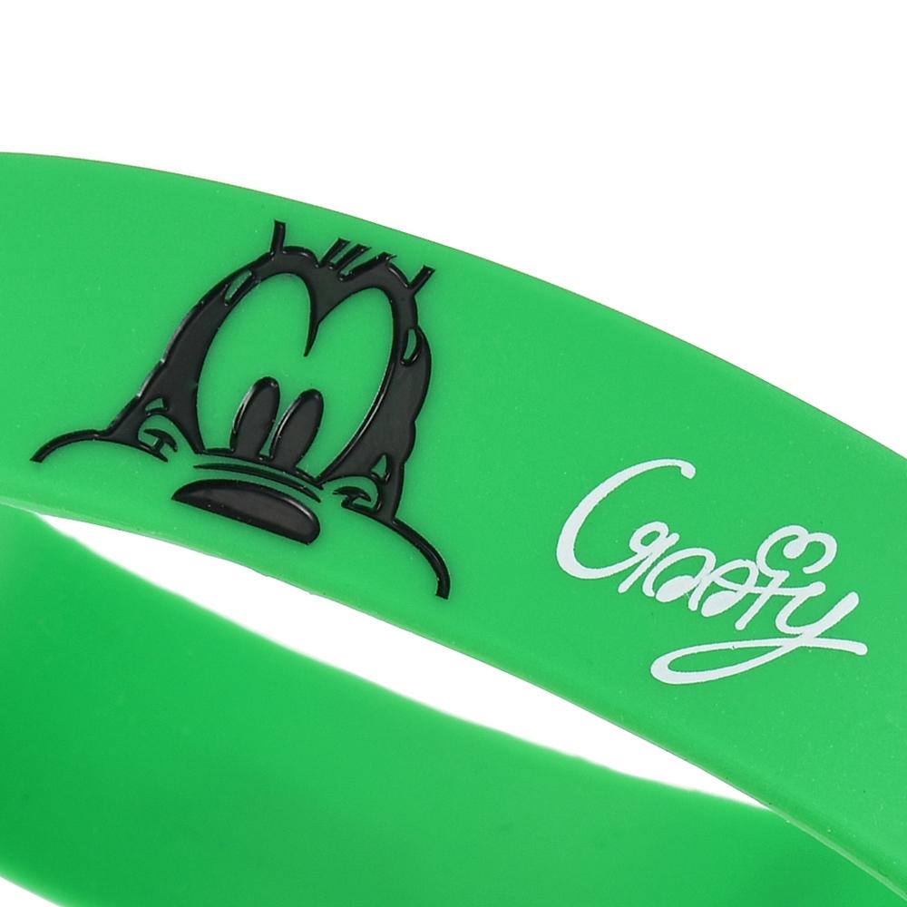 グーフィー リストバンド シリコン Colors グリーン