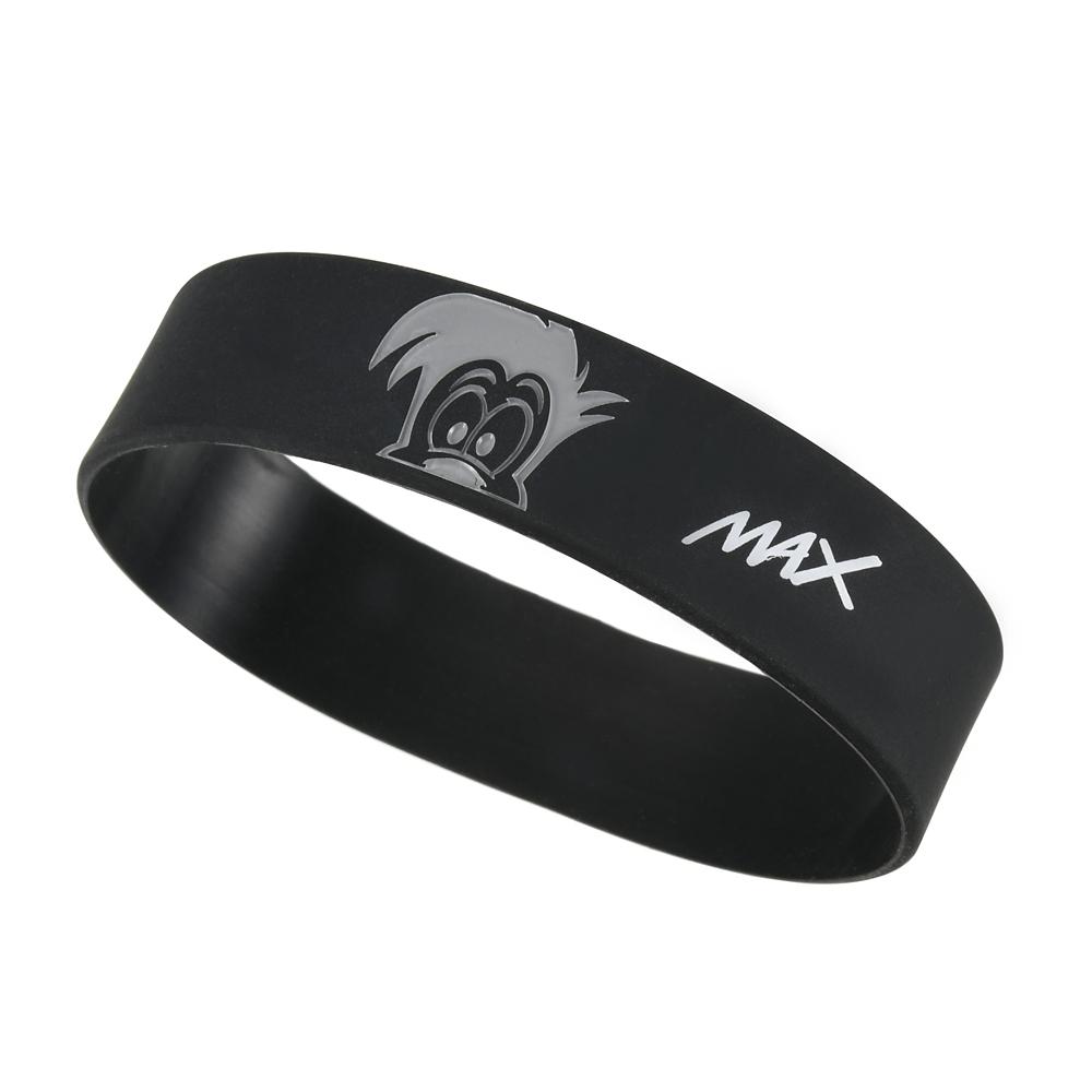 マックス リストバンド シリコン Colors ブラック