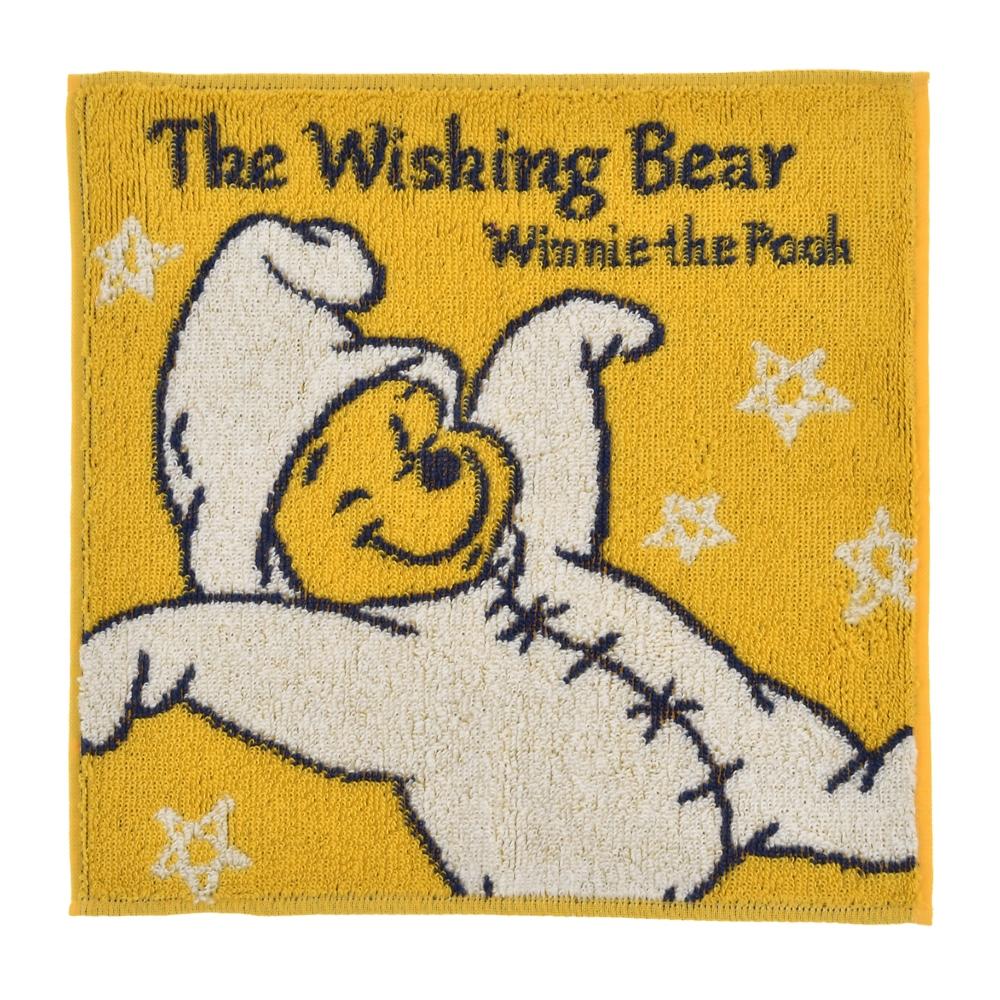 プーさん ミニタオル The Wishing Bear