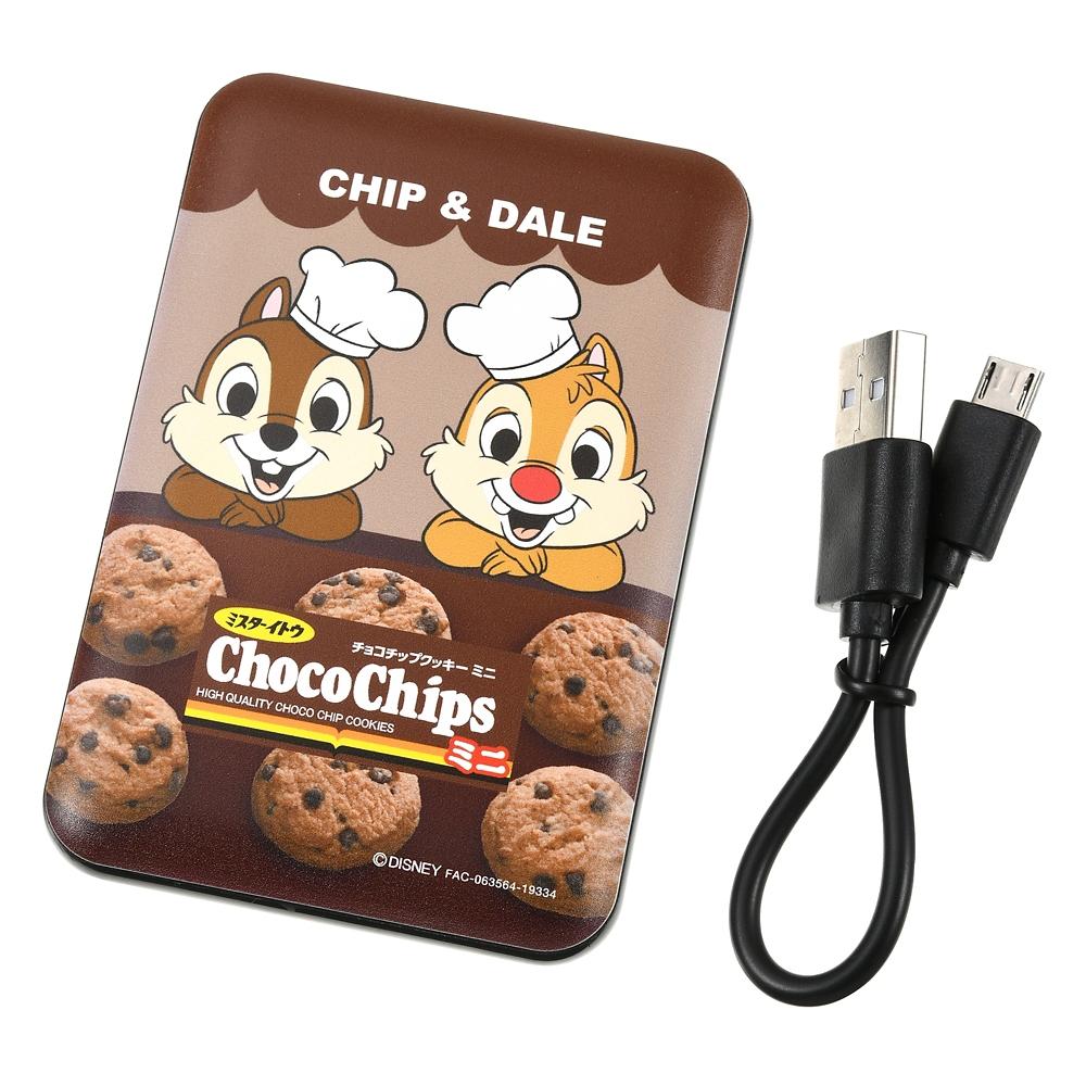 チップ&デール モバイルバッテリーチャージャー Chocochip Cookie