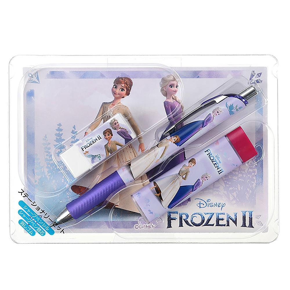 ディズニーストア限定 アナと雪の女王2 MovieNEX コンプリート・ケース付き(数量限定)& ステーショナリーセット