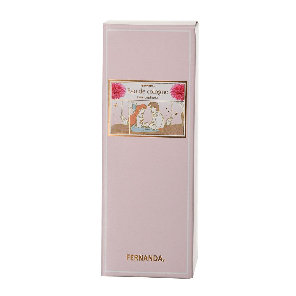 【FERNANDA】アリエル&エリック王子 オーデコロン ピンクエウフォリア Princess Pattern